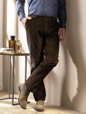 Pantalon en velours 300 raies, élastiqué