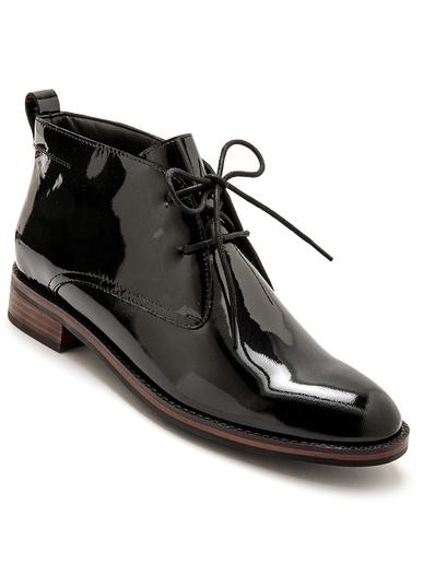 Boots lacées à aérosemelle® - Pédiconfort - Noir
