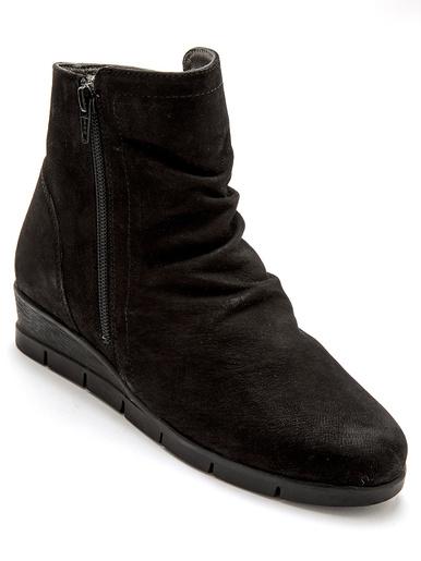 Boots zippées aérosemelle® amovible - Pédiconfort - Noir