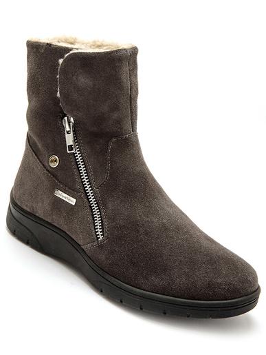Boots fourrées imperméables - Pédiconfort - Marron