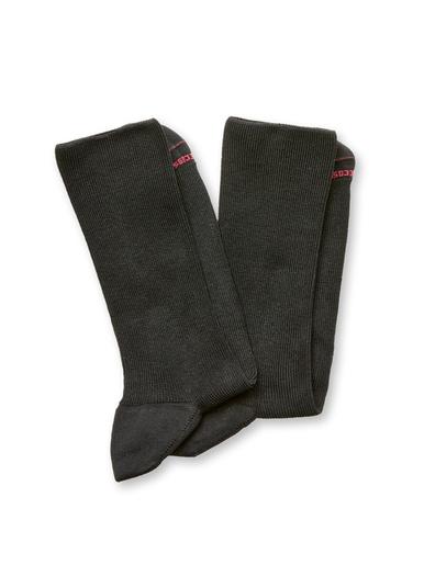 Lot de 2 paires de mi-chaussettes - Labonal - 2 noirs