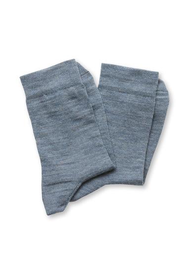 Lot 2 paires de mi-chaussettes 75% coton - Lingerelle -