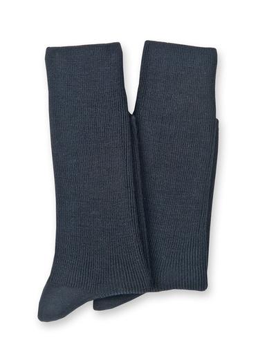 Lot 2 paires de mi-chaussettes 70% laine - Lingerelle - Noir