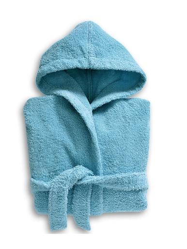 Peignoir éponge enfant Lauréat Confort - Becquet - Bleu