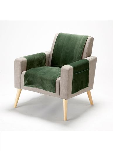 Protège-fauteuil antitache - Carré d'azur - Vert