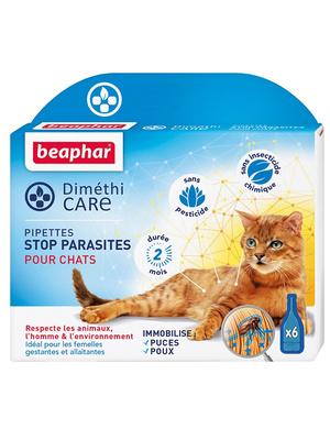 Pipettes anti-parasites pour chats