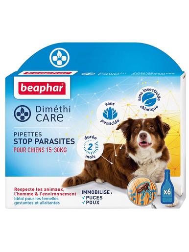 Pipettes anti-parasites chiens 15 à 30kg -  -