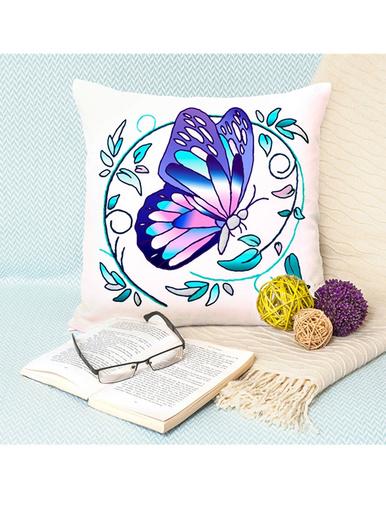 Set de 2 coussins à colorier -  - Papillon
