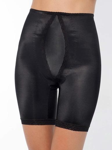 Panty à plastron ventral gainant - Balsamik - Noir