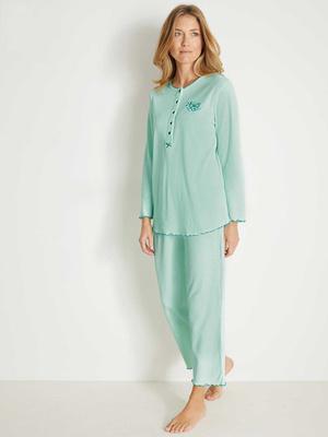 Pyjama maille interlock bio