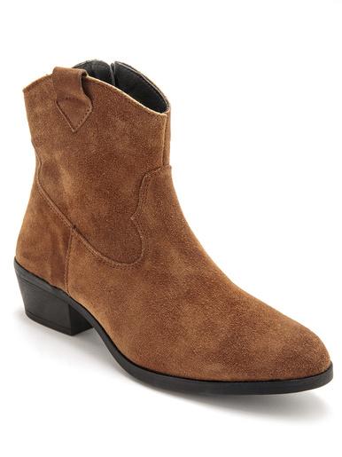 Boots doublure polaire - Pédiconfort - Camel