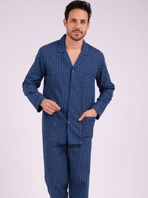 Pyjama long ouvert Héritage