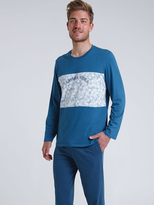 Pyjama long col rond Summer Vibes