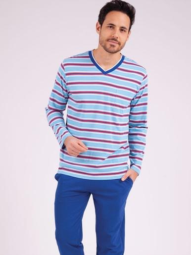 Pyjama long col v Strike