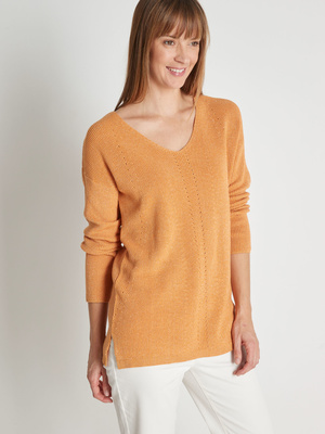 Pull tunique pur coton