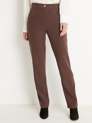 Pantalon ceinture réglable coupe droite