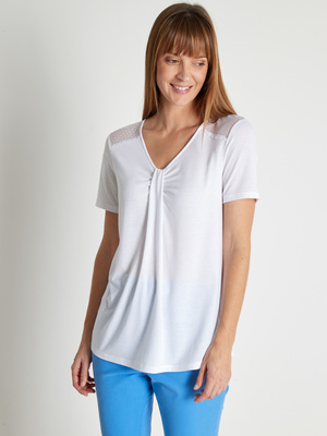 Tee-shirt tunique chic