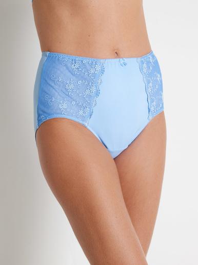 Culotte maxi effet ventre plat - Balsamik - Bleu