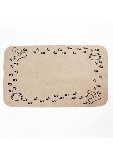 Tapis de repas pour chien - Casâme - Beige