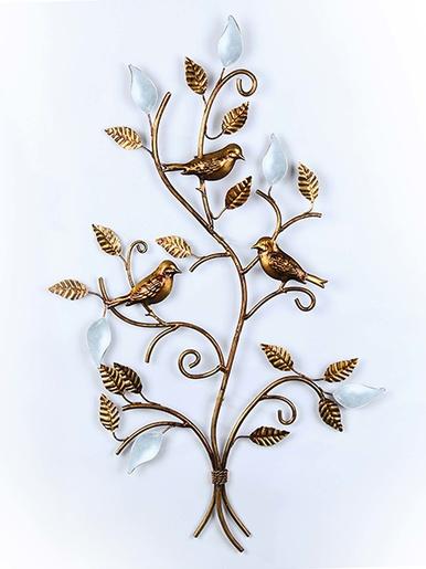 Décoration murale arbre aux oiseaux