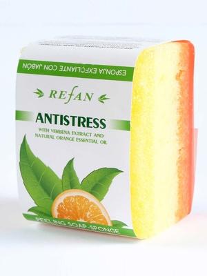 Savon éponge exfoliante anti-stress
