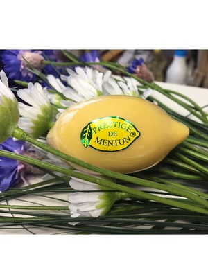 Savon citron jaune