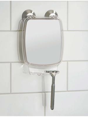 Miroir salle de bain à ventouses