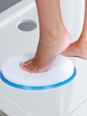 Tapis rond massage bain ou douche