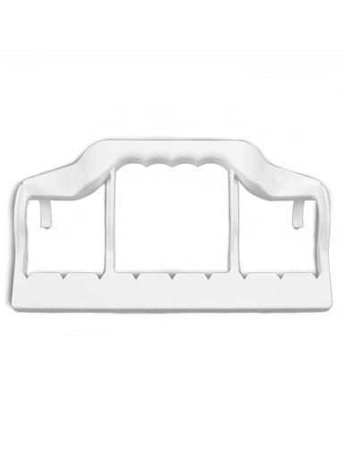 Porte 9 cintres - Casâme - Blanc