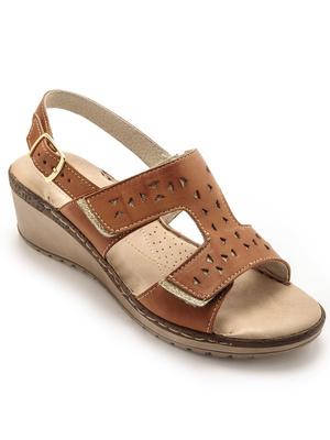 Sandales ouverture totale à scratchs