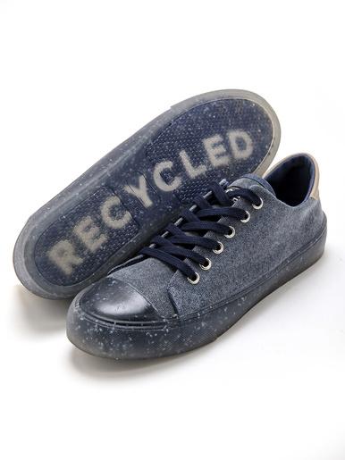 Derbies entièrement recyclés - Pédiconfort - Bleu