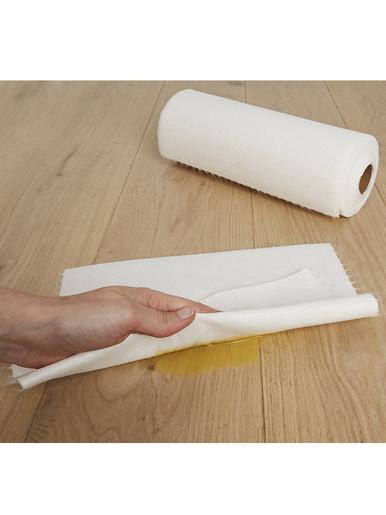 Papier essuie-tout en bambou lavable - Wenko - Blanc