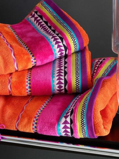 Drap de bain 480g/m2 - Becquet - Orange