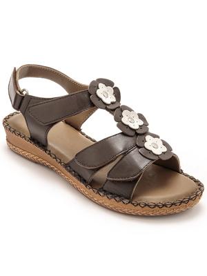 Sandales ouverture totale à aérosemelle