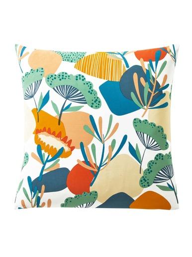 Taies FLEURS COLOREES - Becquet - Multicolore