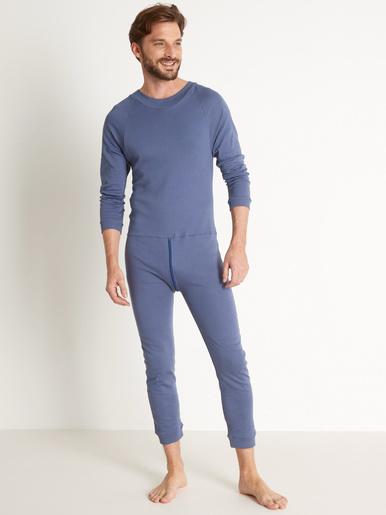 Combijama homme spécial incontinence -  - Bleu