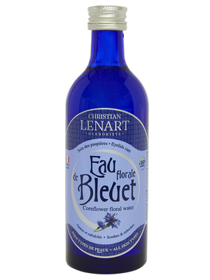 Eau florale de Bleuet Christian Lénart