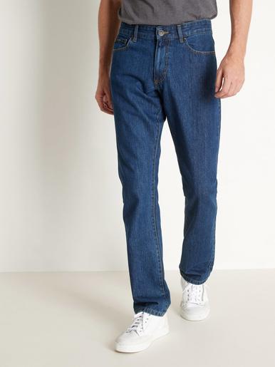 Jean 5 poches coton bio - Rica Lewis - Bleu denim