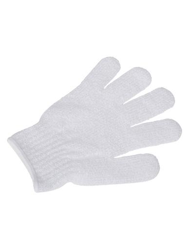 Gant exfoliant -  - Blanc