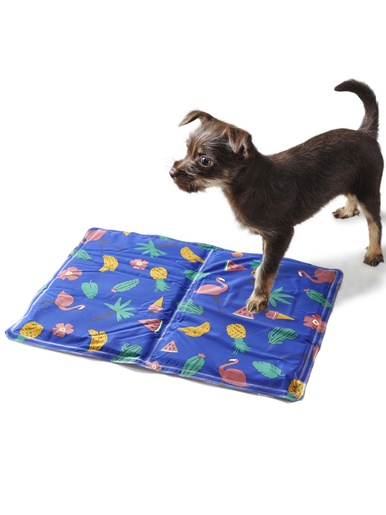 Tapis rafraîchissant pour chien -  - Imp.tropical