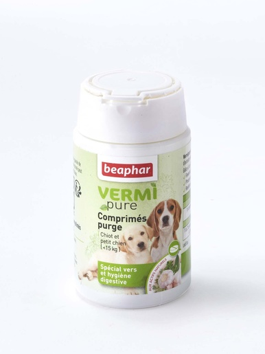 50 comprimés purge petit chien -  -
