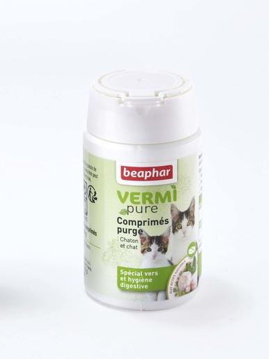 50 comprimés pour chat -  - Purge chats