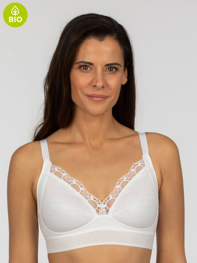 Soutien-gorge Feel Good Support - Playtex - Blanc
