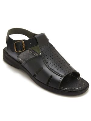 Sandales cuir à aérosemelle