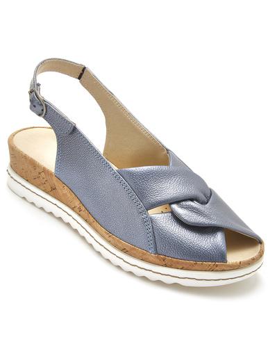 Sandales sans coutures blessantes - Pédiconfort - Bleu