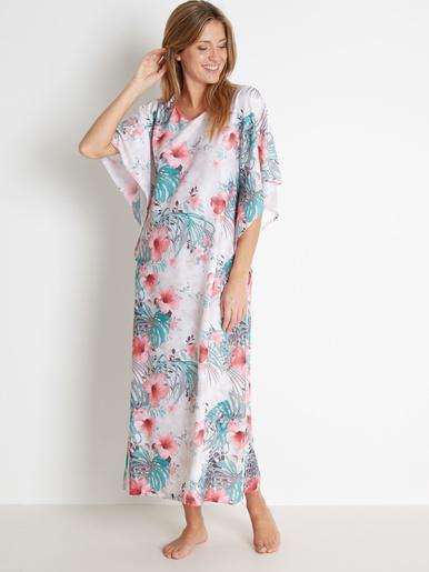 Robe d'hôtesse en maille satinée - Lingerelle -