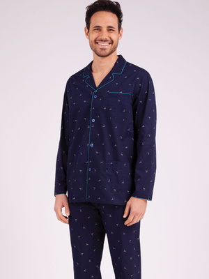 Pyjama long ouvert Night Fever