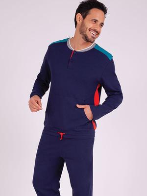 Pyjama long col T Attrape-moi