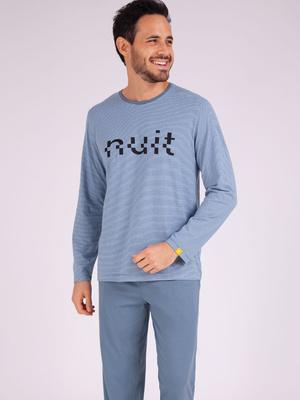 Pyjama long col rond Enigma