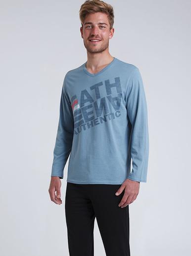 Pyjama long col V Eco Pack